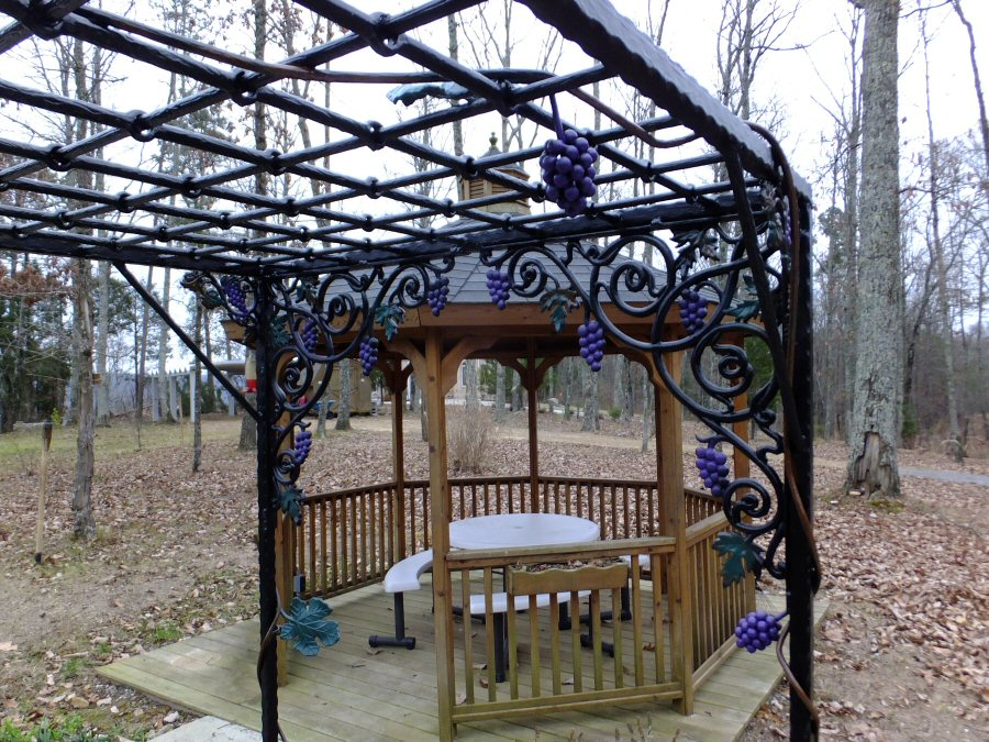 Kyle Nelson Johnson Wrought iron mailboxes handrails gates arches fences custom design