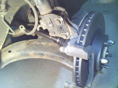 Automotive Axle Replacement