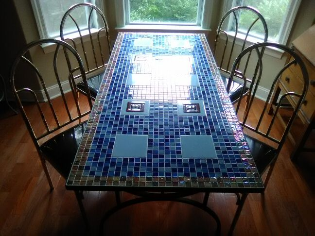 Tiled Furniture Design